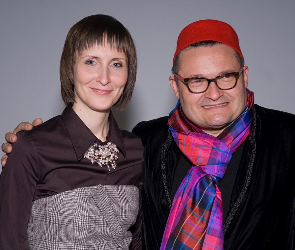 Александр Васильев и Соня Тру